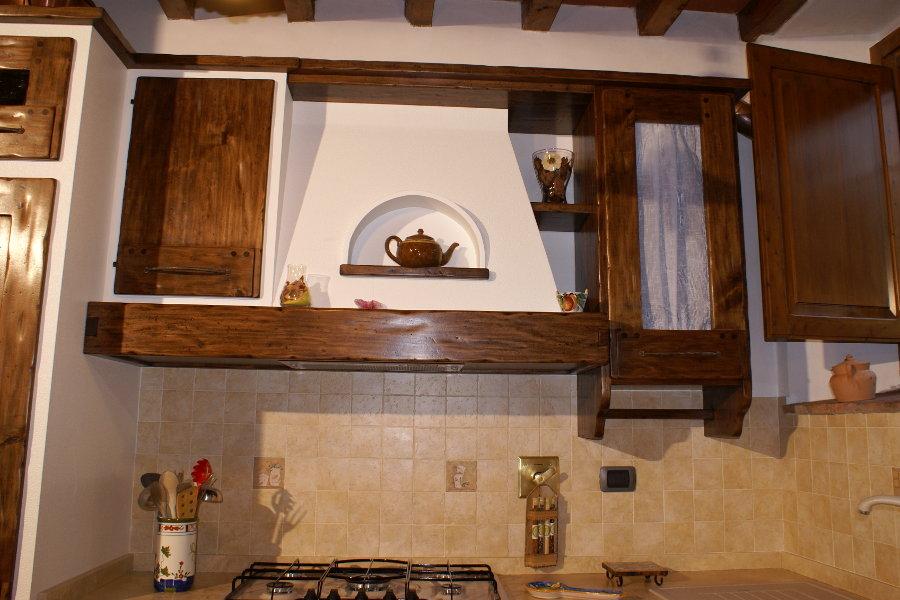 Cucina in finta muratura (PP-CFM025) - Mobili su misura a Firenze ...