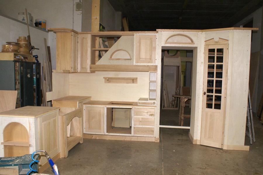 Cucina in finta muratura (PP-CFM028) - Mobili su misura a Firenze ...