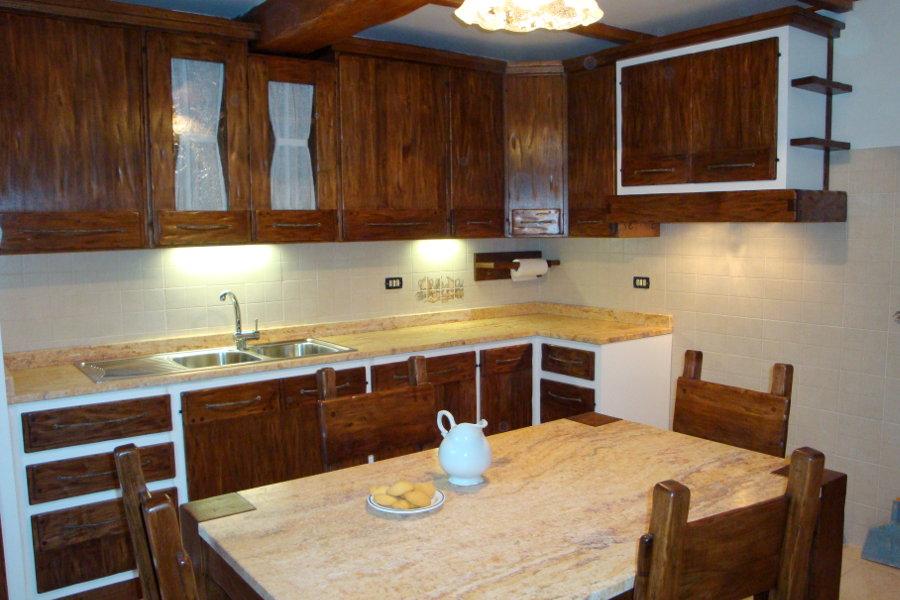 Cucina in finta muratura (PP-CFM029)