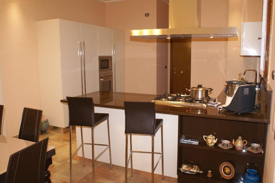 Cucina Moderna Laccata Lucida (ALT-CUC002)