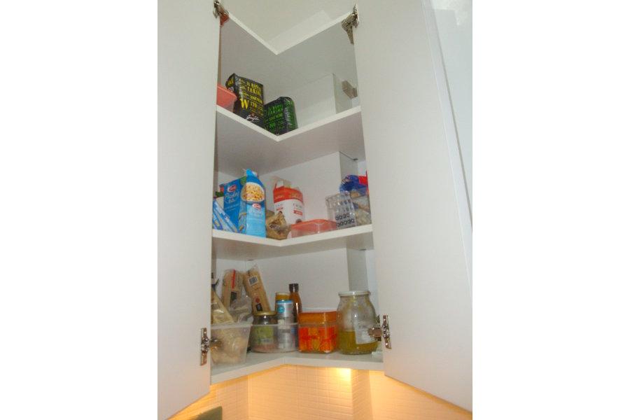 Cucina moderna con doppio angolo (GC-CUC010) - Mobili su misura a ...