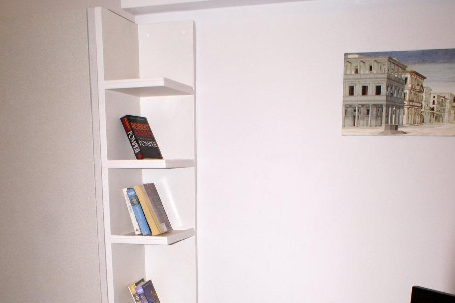Libreria a terra per soggiorno (PP-LIB002)