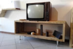 Porta TV In Legno Di Recupero (XN-PTV001)