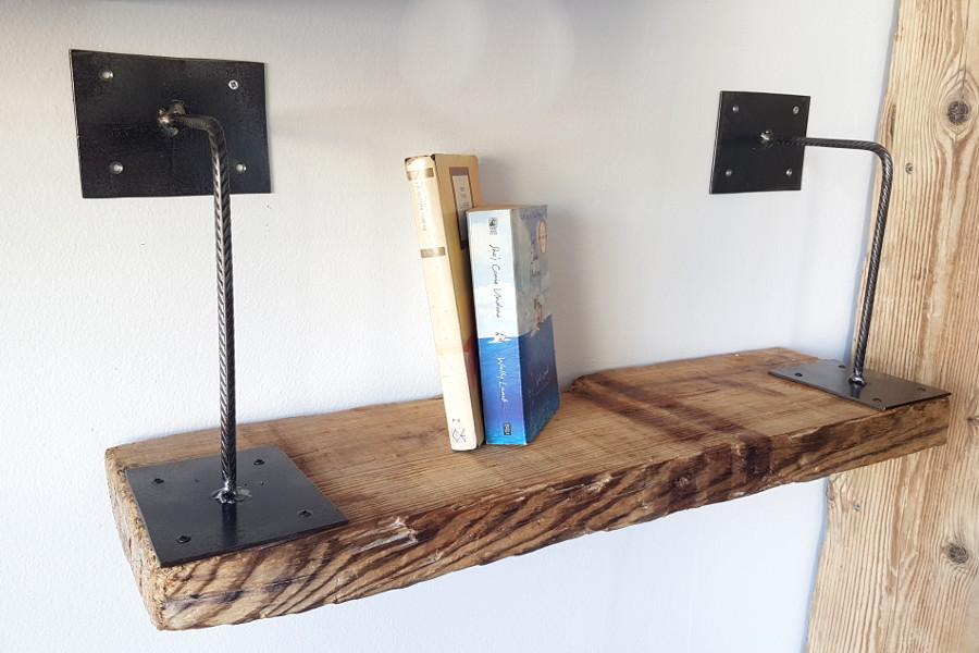Mobili In Legno E Ferro : Mensola in legno di recupero e ferro xt men mobili su
