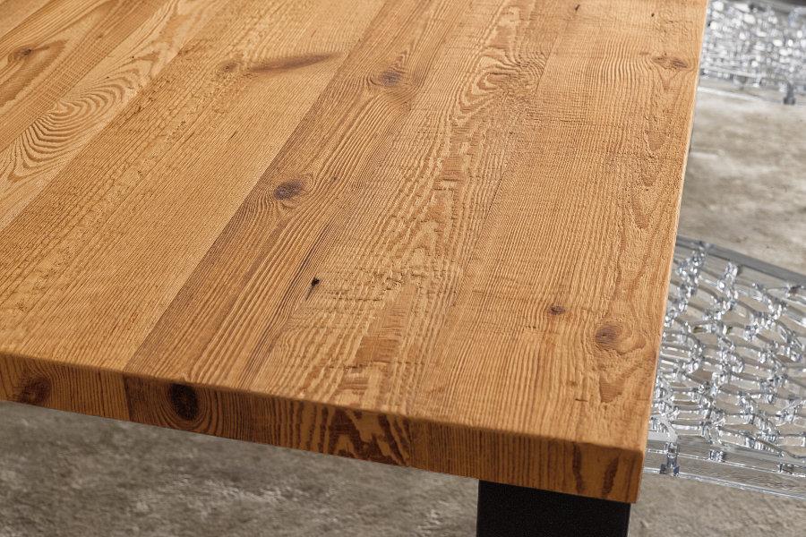 Tavolo moderno con piano in conifera (ZV-TAV003) - Mobili su misura ...