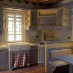 Cucina In Finta Muratura A Campione Colore (PP-CFM031)