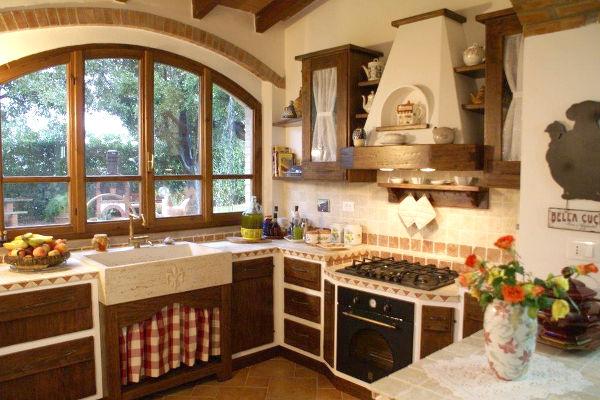 Cucine in muratura a Firenze
