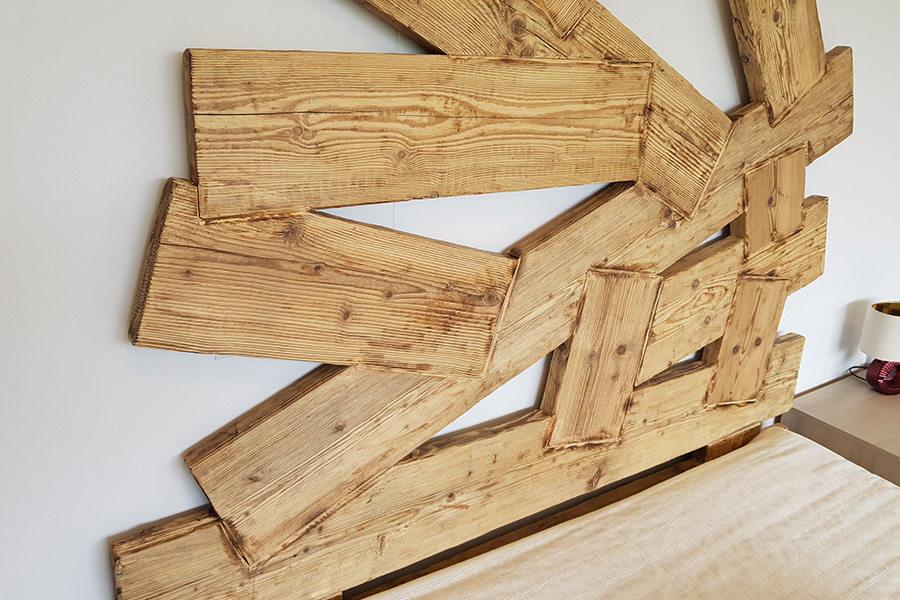 Letto in legno naturale XN-LET002