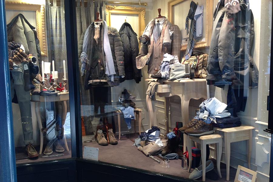 Arredare un negozio: Milord (Firenze)