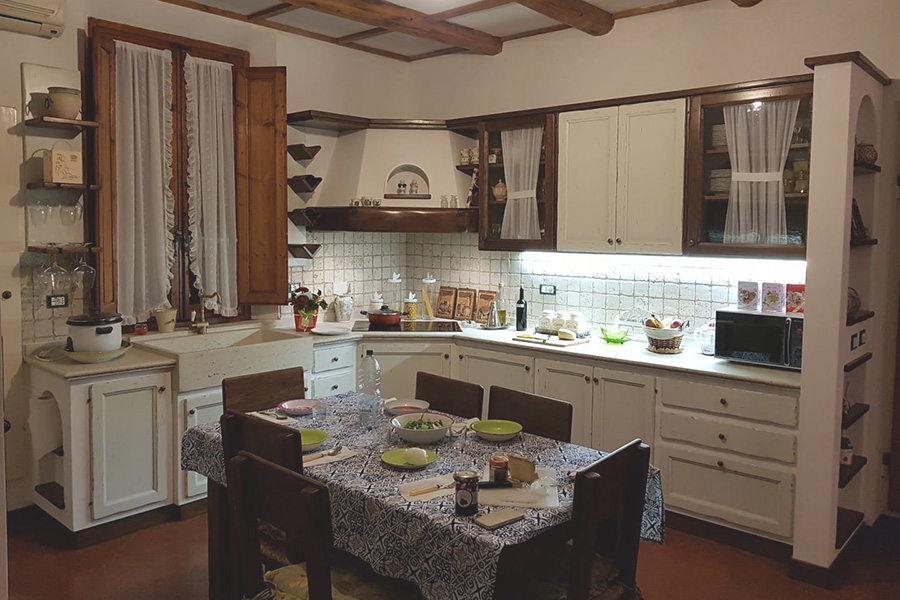 Cucina In Finta Muratura Doppia Finitura (PP-CFM032)