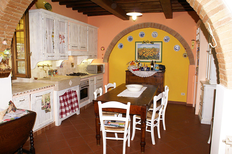 Cucina in finta muratura (PP-CFM033)