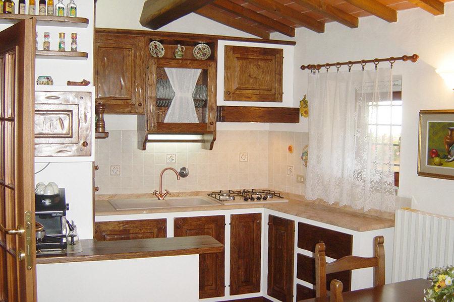 Cucina Ad Angolo In Finta Muratura (PP-CFM036)
