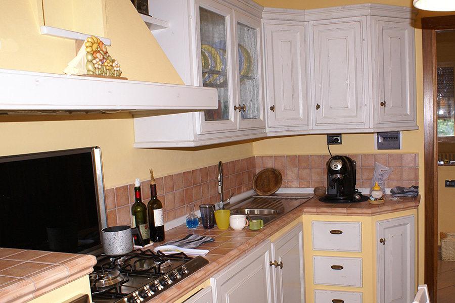 Cucina in finta muratura (PP-CFM038)