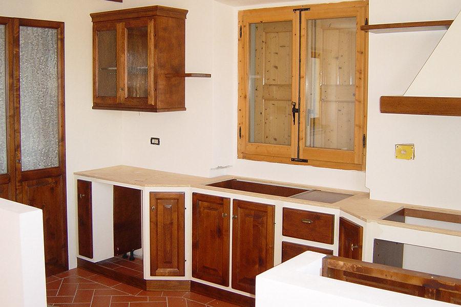 Cucina In Finta Muratura (PP-CFM040)