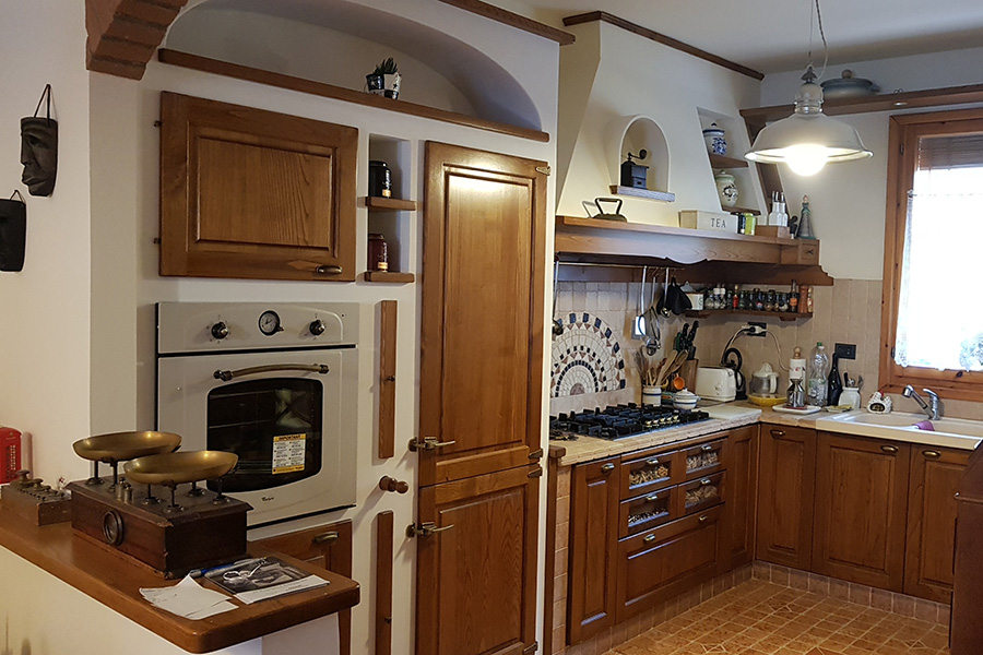 Completamento cucina in finta muratura (PP-CFM043)