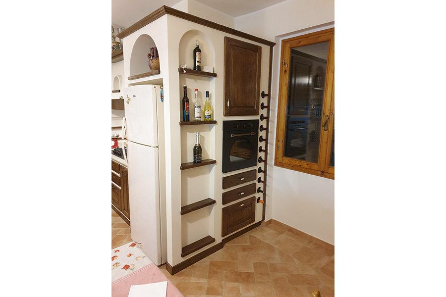 Progettazione cucina - l'angolo esterno