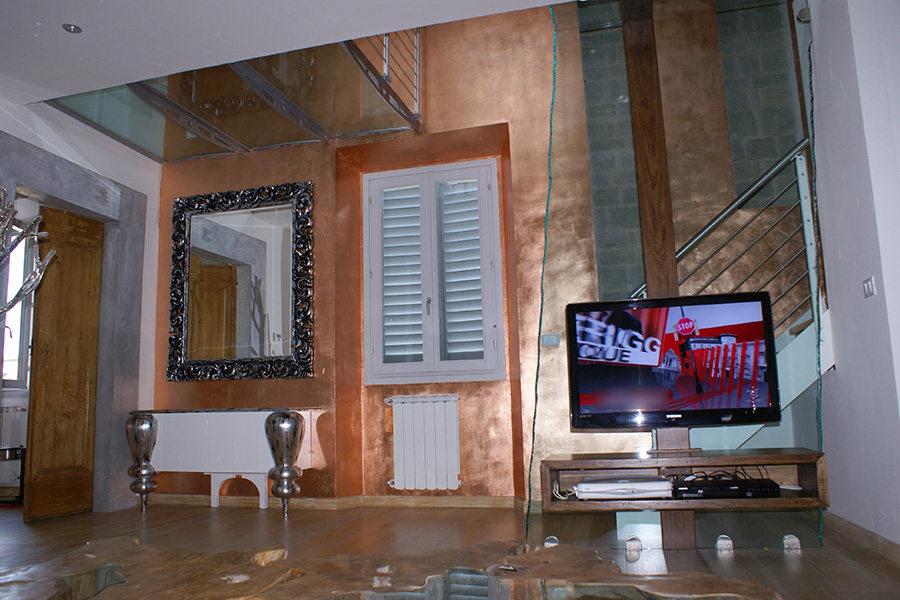 Porta Tv Cristallo Per Soggiorno Serie X-GOLD