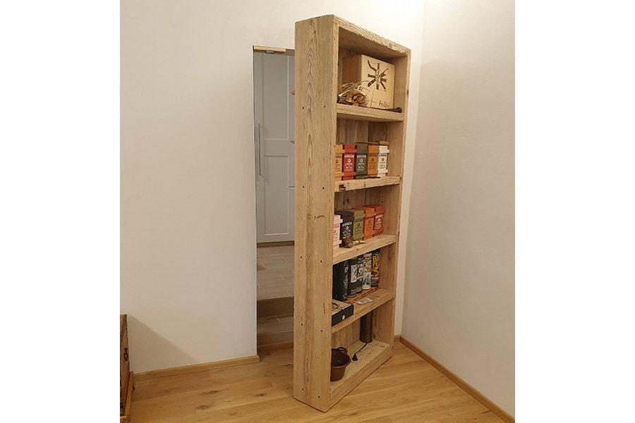 Libreria In Legno Di Recupero (XN-LIB016)