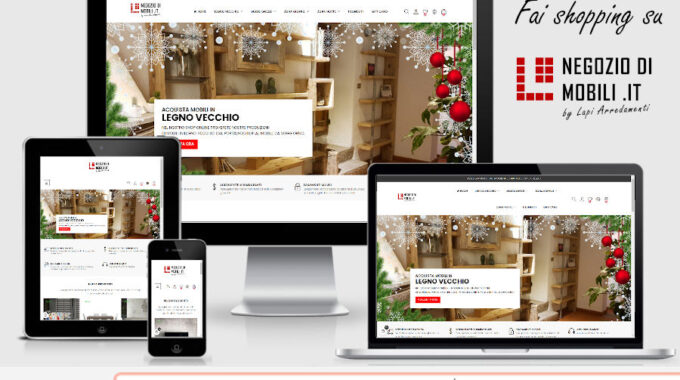 Fai Shopping Sul Nuovo E-commerce Di Arredamento Www.negoziodimobili.it