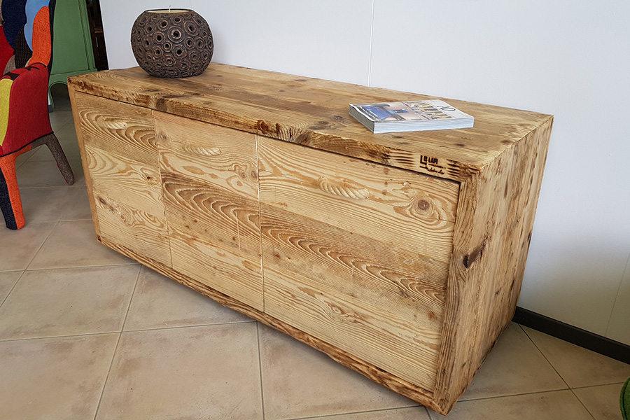 Comò in legno di recupero (XN-GRU004)