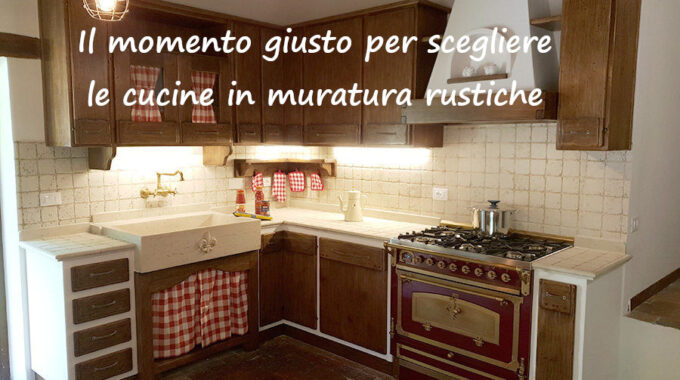 Cucine In Muratura Rustiche A Firenze